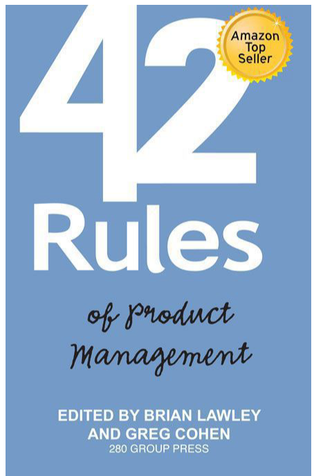 product managment books - 42 rules